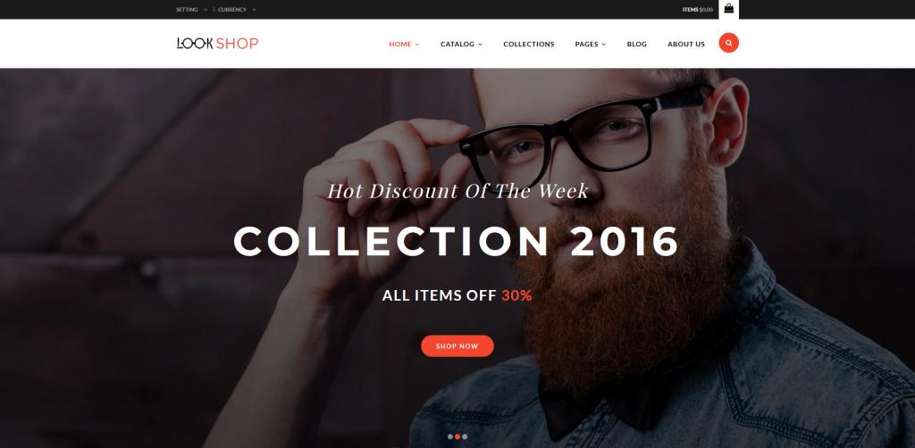 Lookshop Shopify Theme