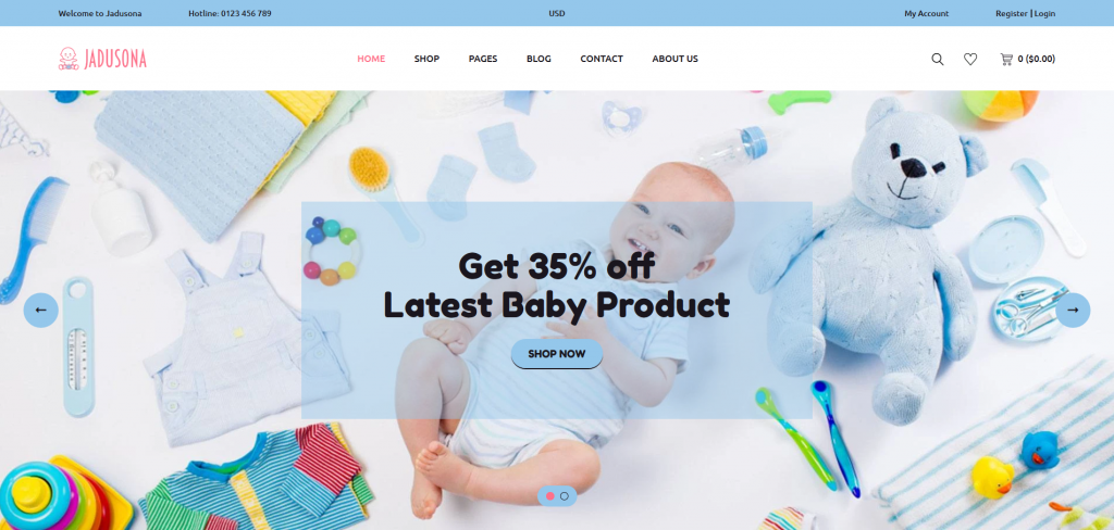 Jadusona Shopify Theme