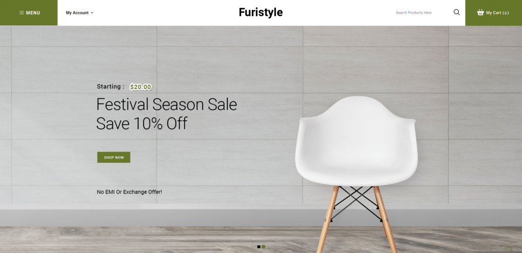 Furistyle - Furniture Opencart Themes
