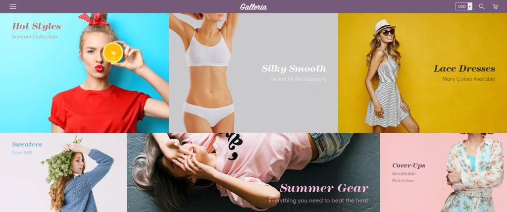 Galleria Shopify Theme