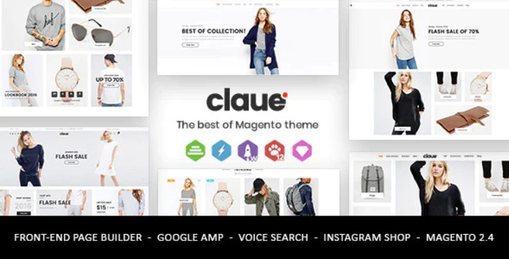 Claue Magento 2 Theme