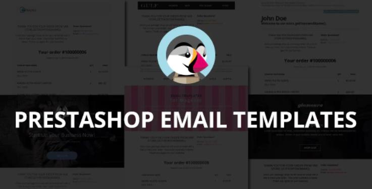 PrestaShop Email Templates PrestaShop Module