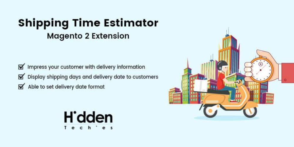 Shipping Time Estimator Magento 2 Extension