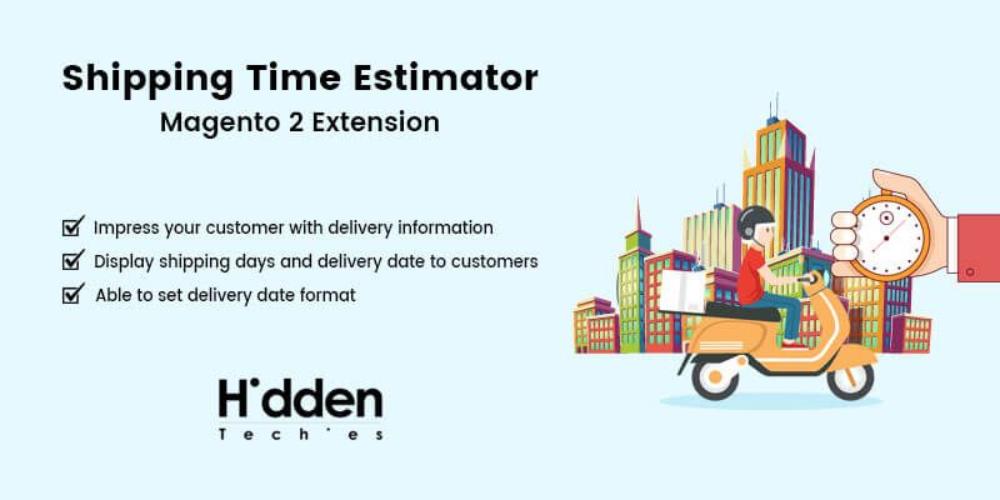 Shipping Time Estimator Magento 2 Extension