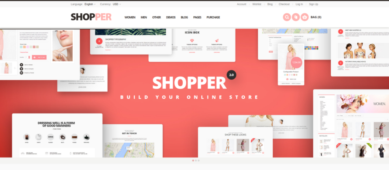 Shopper Best Magento 2 Theme