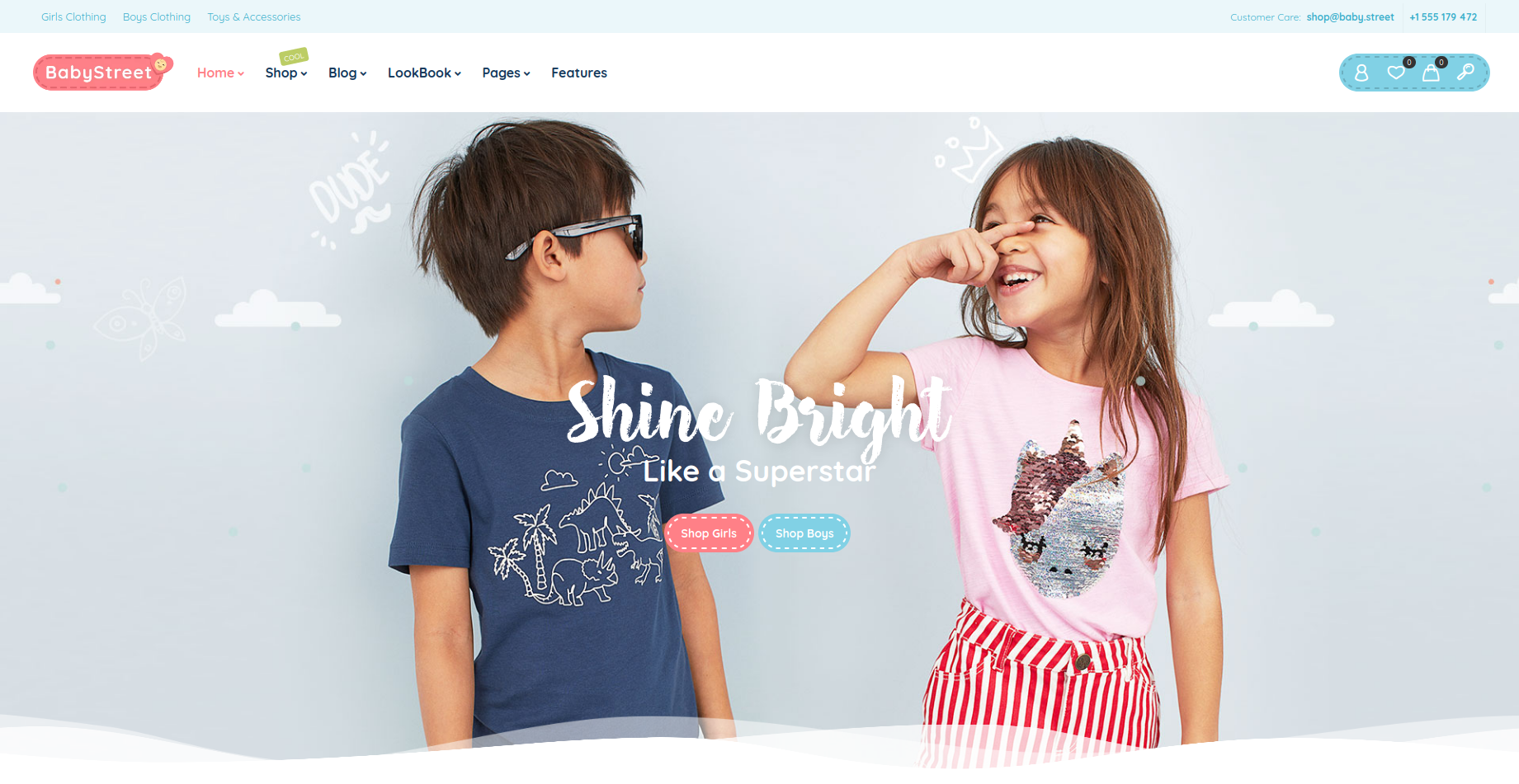 BabyStreet - Kids and Toys WooCommerce Theme