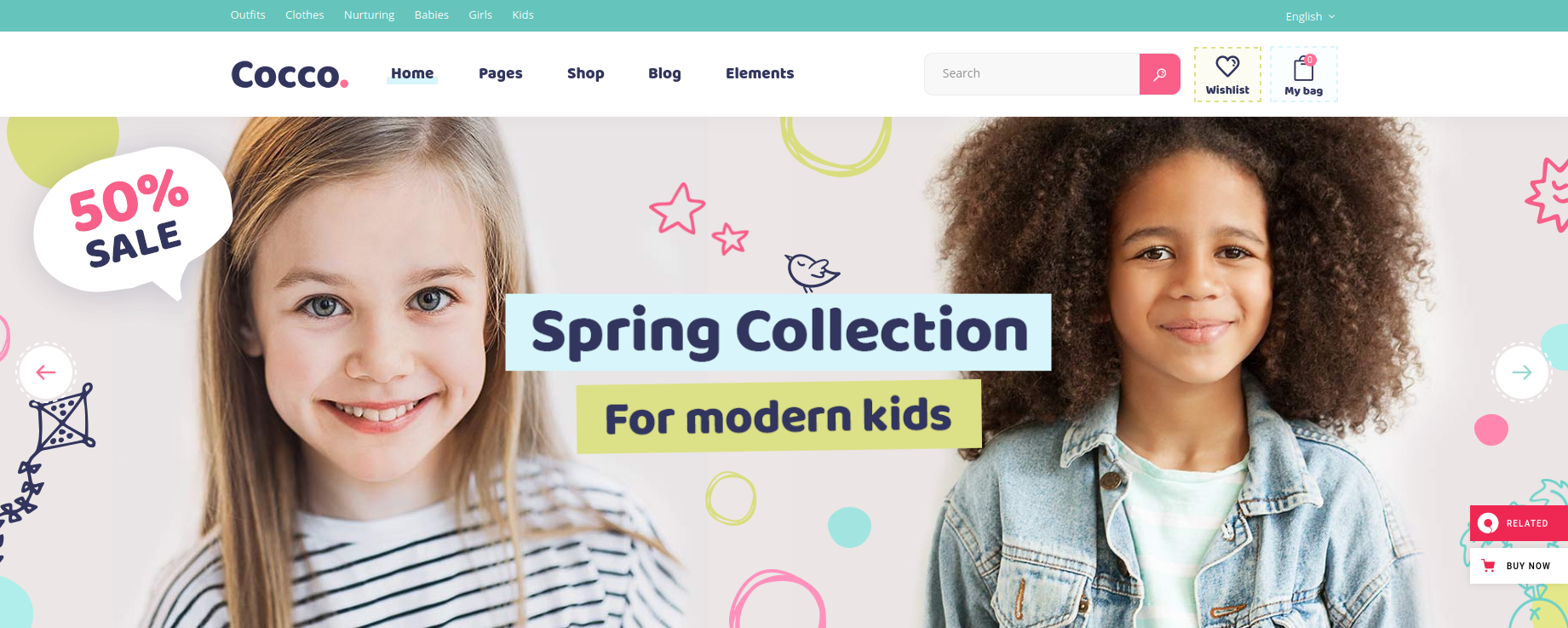 Cocco - Kids and Toys WooCommerce Theme