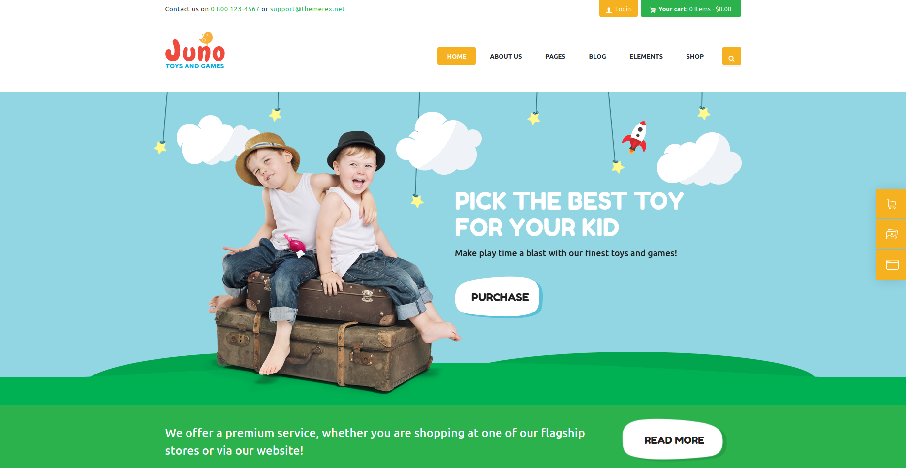 Juno - Kids and Toys WooCommerce Theme