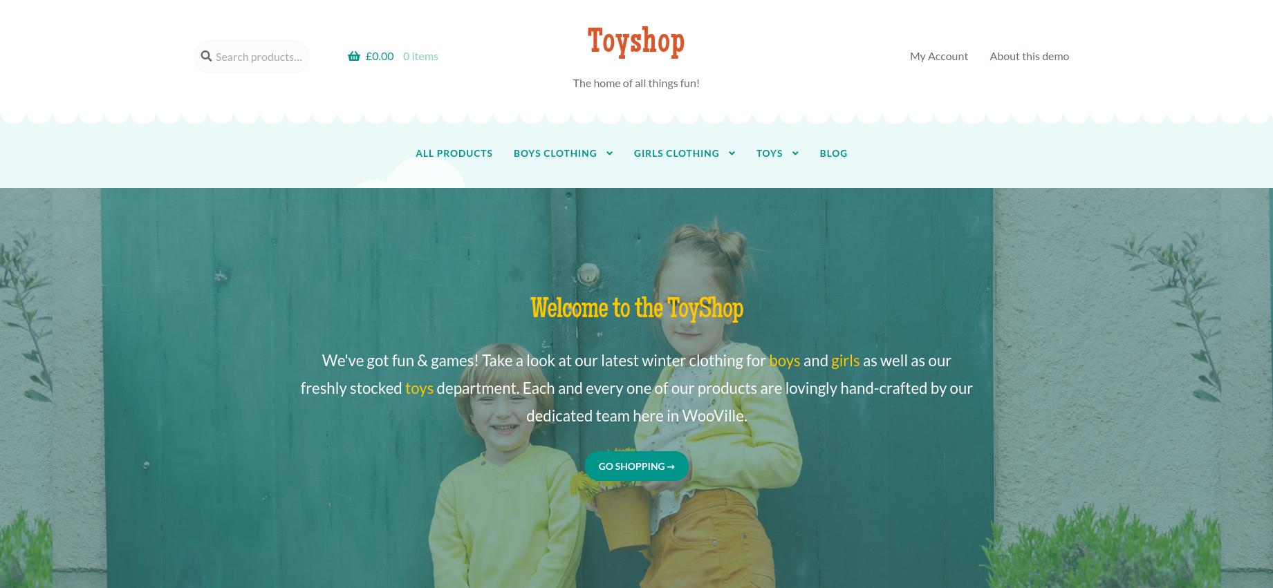 Toyshop - Kids and Toys WooCommerce Theme