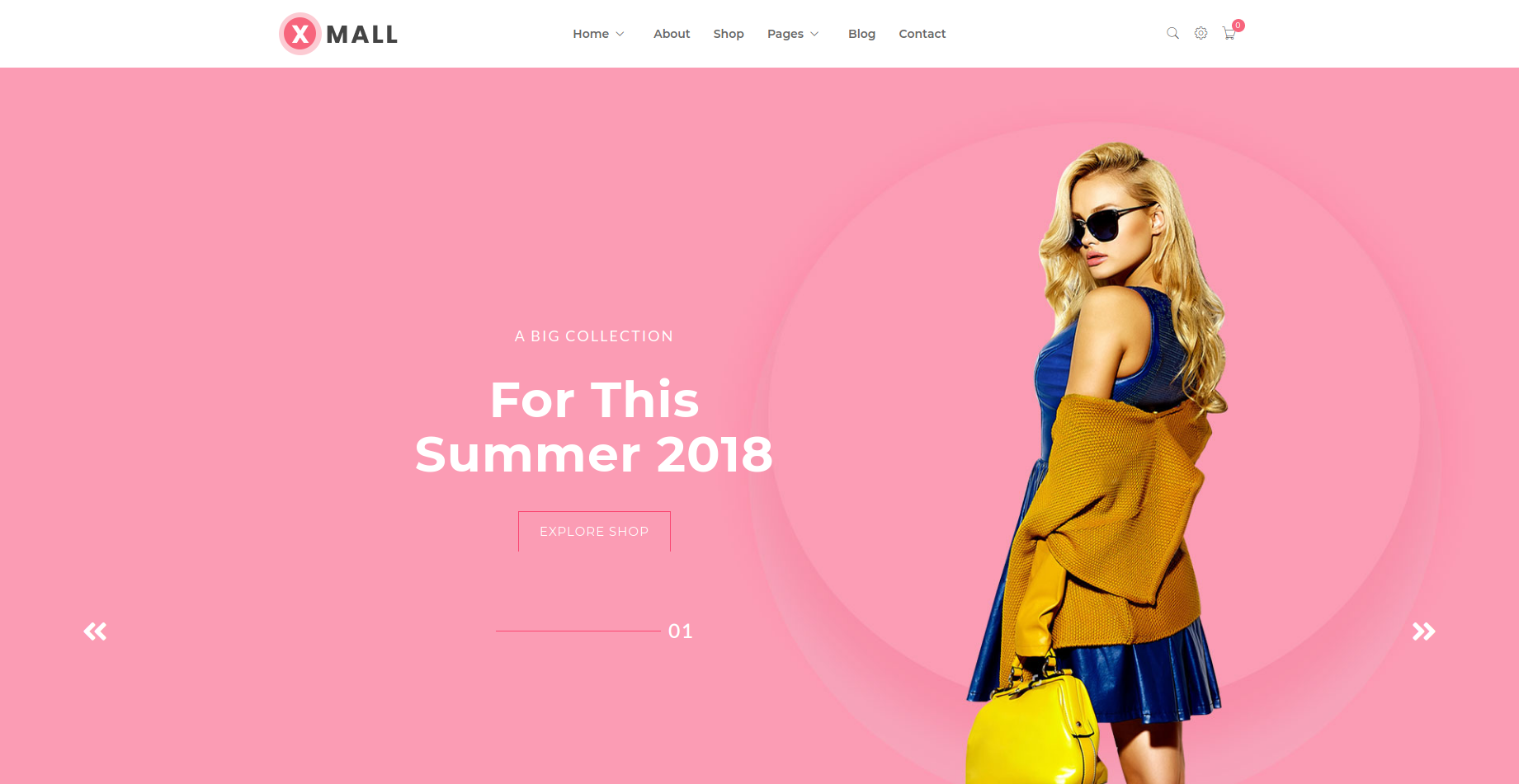 Xmall - Accessories WooCommerce Theme
