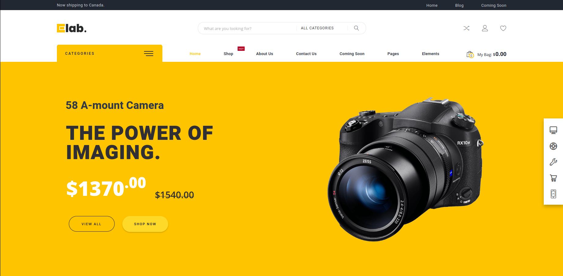 eLab - Multi Vendor Marketplace WordPress Theme