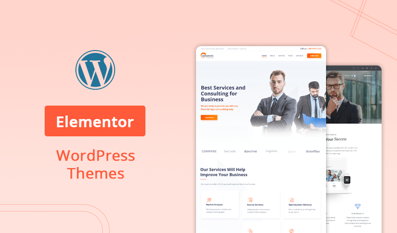 10+ Best Elementor WordPress Themes For Efficient Page Building