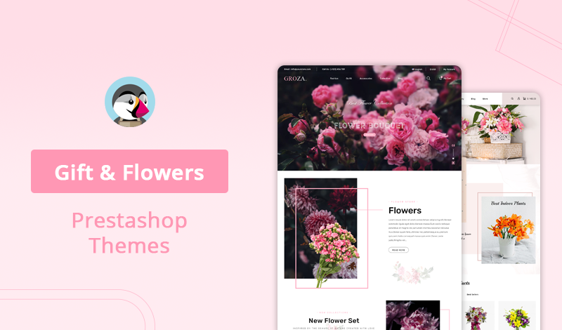 10+ Best Gift & Flowers Prestashop Themes For Your Store