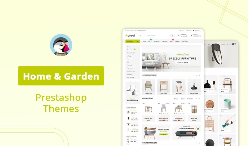 10+ Best Premium Responsive Home & Garden Prestashop Themes