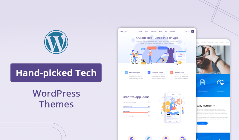 10+ Most Hand-picked Tech WordPress Themes For Your Store
