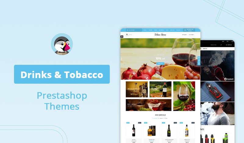 12+ Trending Drinks & Tobacco PrestaShop Themes