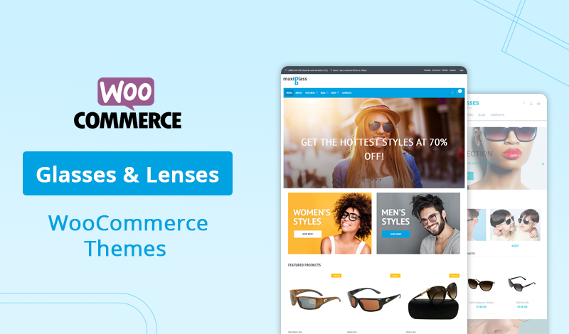 7+ Best Glasses & Lenses WooCommerce Themes For Your Store