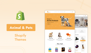 7+ Bright And Versatile Shopify Themes For Animal & Pets Services