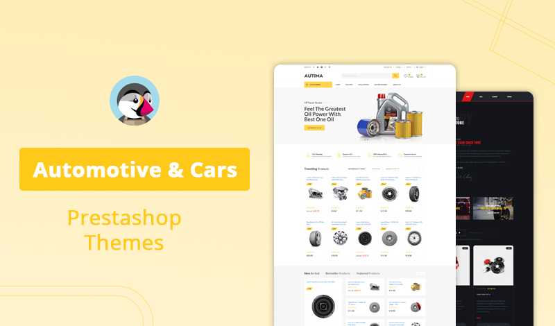 10+ Best Automotive & Cars Prestashop Themes for Your Online Store