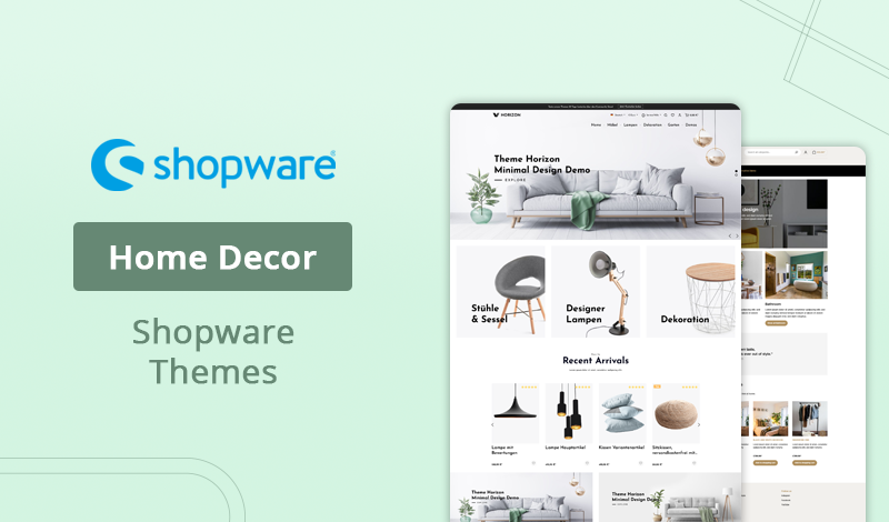 Best 10+ Home Decor Shopware Themes For Online Store
