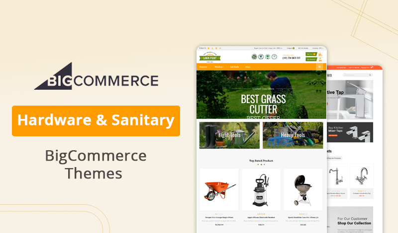 Best Hardware & Sanitary BigCommerce Themes For Your Online Store