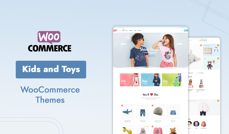 10+ Best Premium Kids and Toys WooCommerce Themes