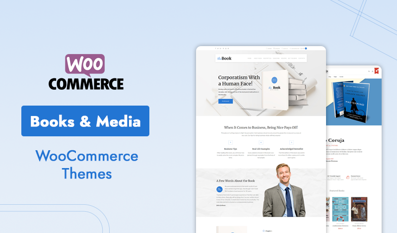 10+ Best Books & Media WooCommerce Themes to Look for Online Store