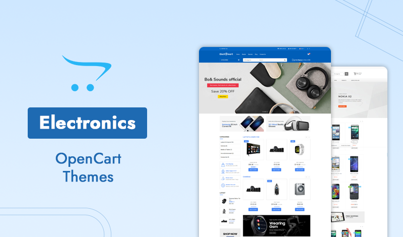 Browse 10 Electronics Opencart Themes Creating Your Online Store!