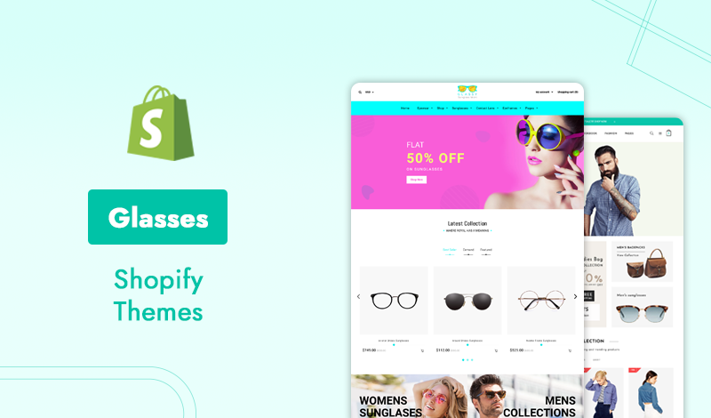Discover Best Glasses Shopify Themes For Ecommerce Store