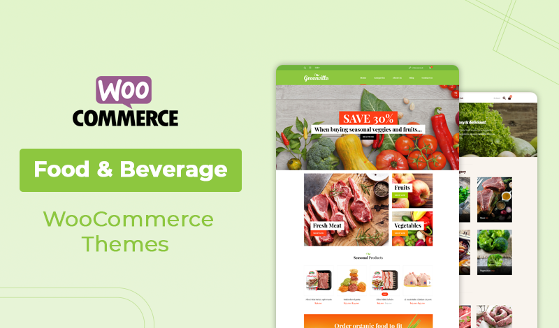Top Premium Food & Beverage WooCommerce Themes
