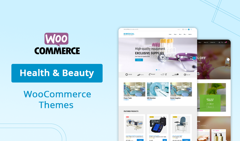 10+ Best Health & Beauty WooCommerce Themes For Your Online Store