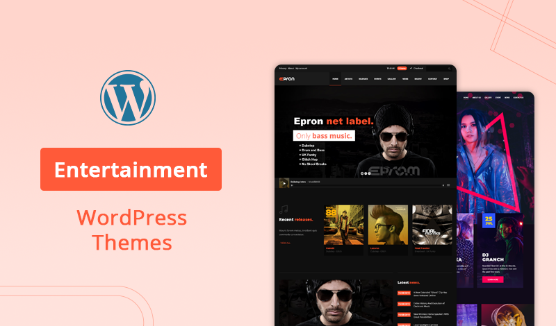 10 Most Popular Entertainment WordPress Themes