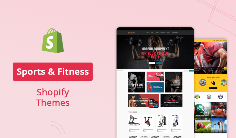 10 Sports & Fitness Shopify Themes For Your Ecommerce Store