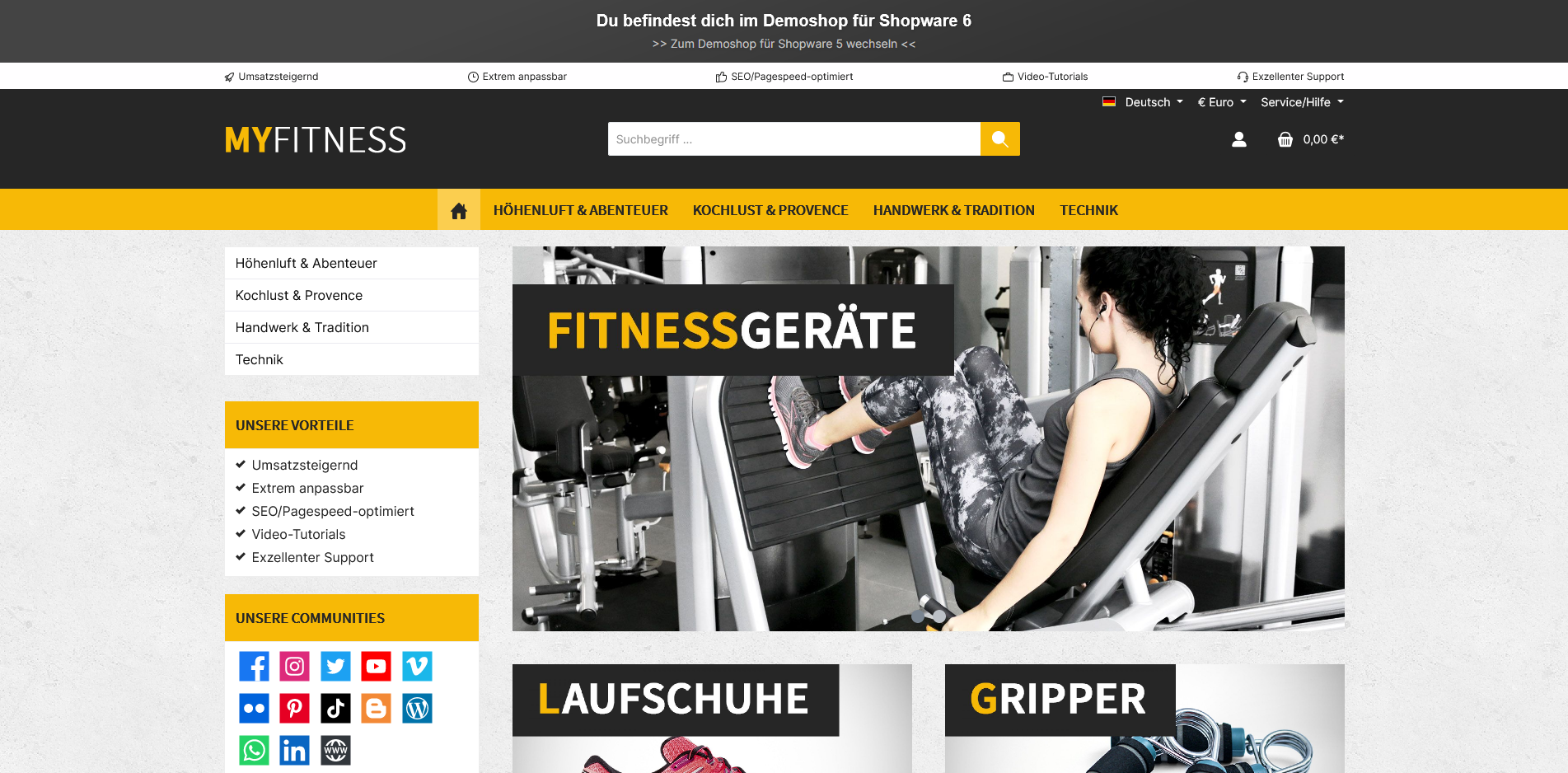 ThemeWare® Fit   sales increasing and customizable