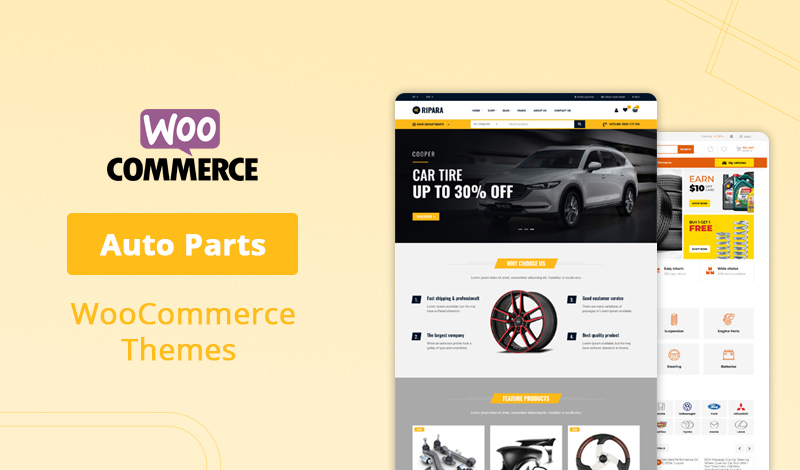 Top 10+ Auto Parts WooCommerce Themes Collection