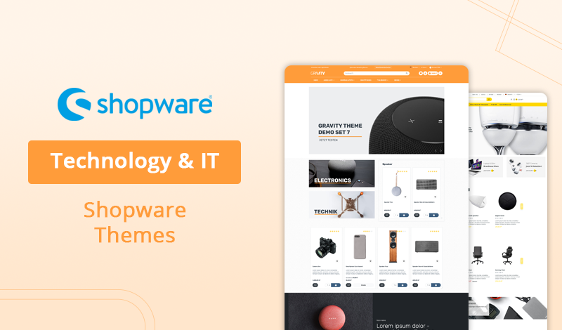 Top 10 Technology & IT Shopware Themes For Your Online Store