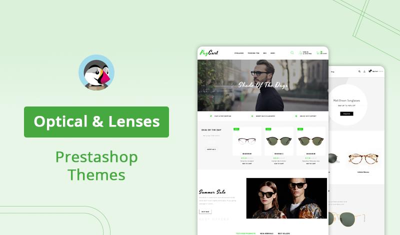 Top Suitable Optical & Lenses PrestaShop Themes