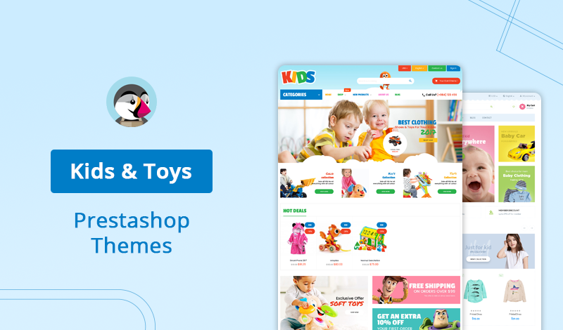 10 Best Kids & Toys PrestaShop Themes For Ecommerce Development