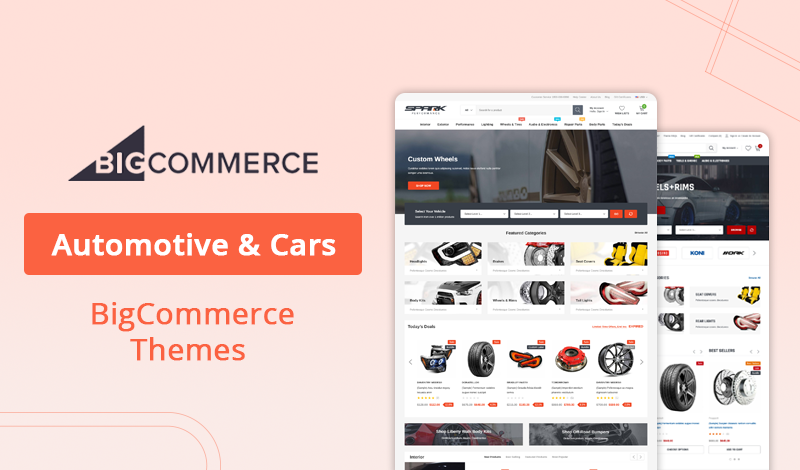 7+ Best Automotive & Cars BigCommerce Themes For Your Store