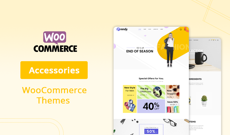 Collection of 10+ Accessories WooCommerce Themes For Your Store