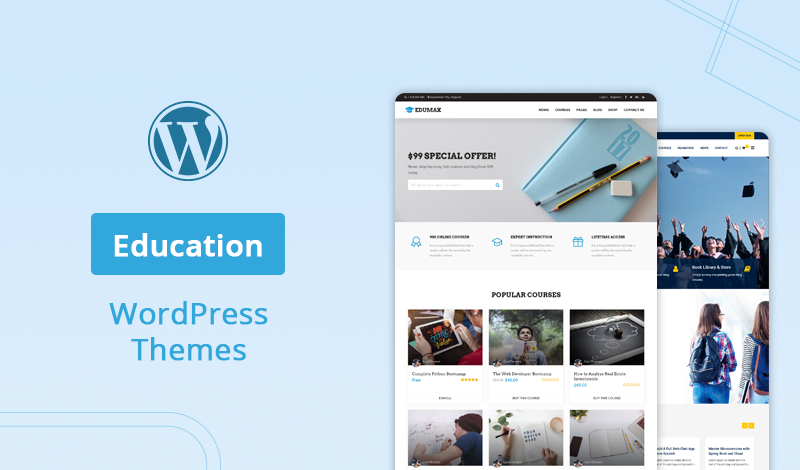 Ultimate Collection Of Best Education Wordpress Themes And Templates