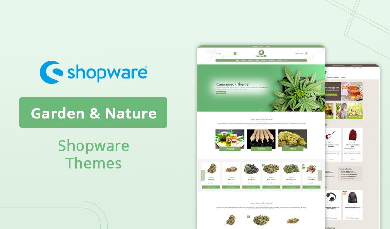 Best 5+ Garden & Nature Shopware Themes For Your Ecommerce Store
