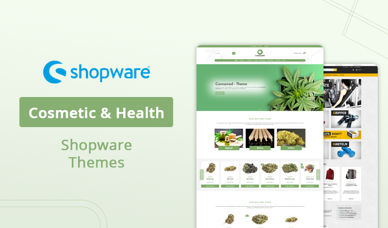 Best 5+ Cosmetic & Health Shopware Themes For Your Online Store